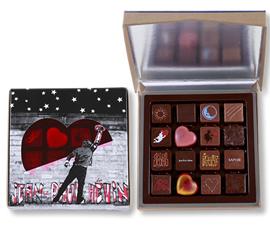 Boîte 16 chocolats Street-Art
